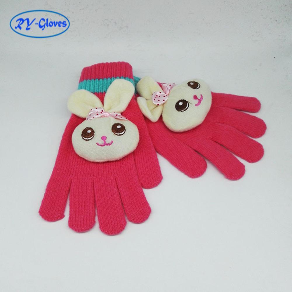 Nouvelle tête de dessin animé coréen tête chaude gants magiques