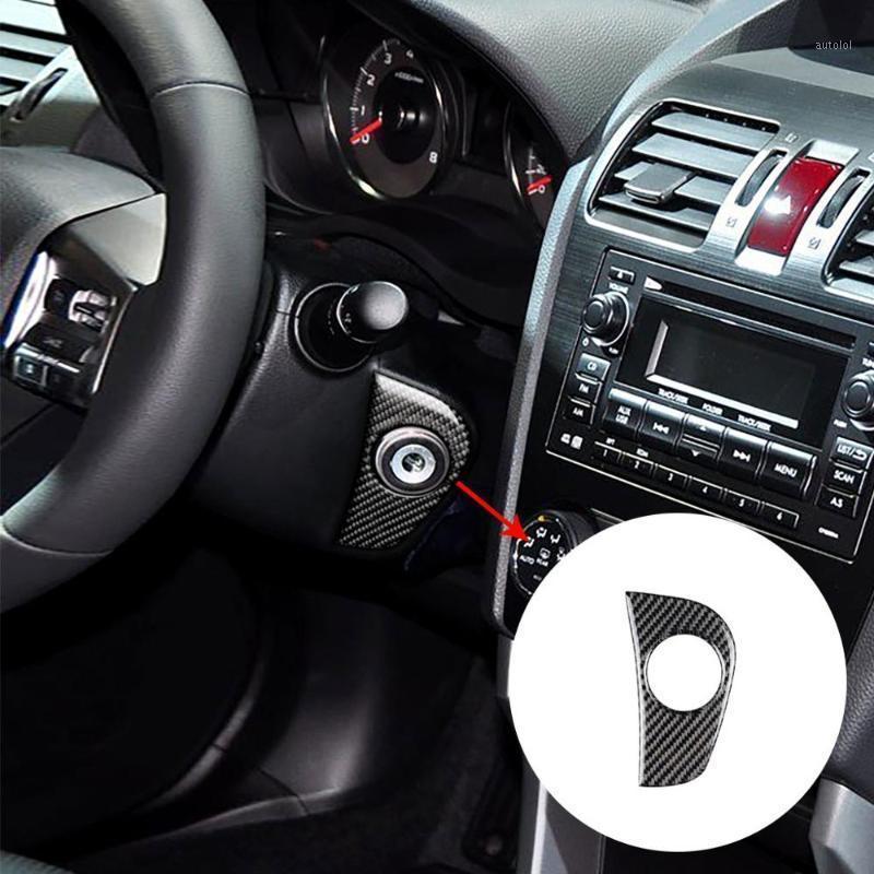 Для Forester XV Crosstrek WRX STI 2020-19 Укладки автомобилей Клавишные скважины Декоративные рамки Крышки Клавиши Ключ Стикеры1