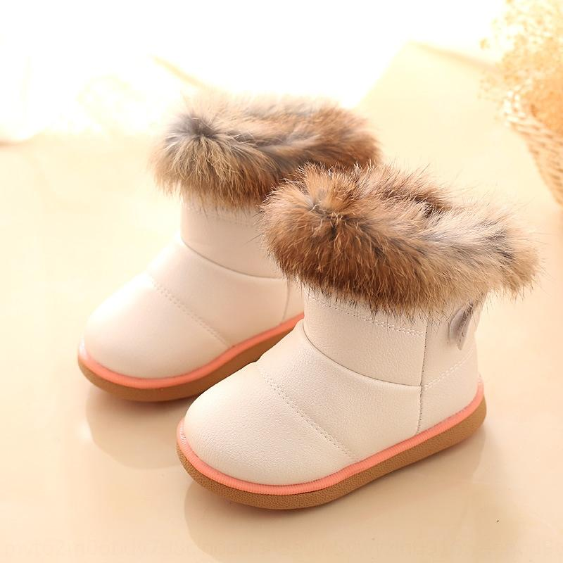 1NMm FLAMINGO Autumn Free High 202B-Z5-2041 Grey Felt Boots Size 22-27 Anti-slip Shose for Girl Kids Shipping Quality 1028