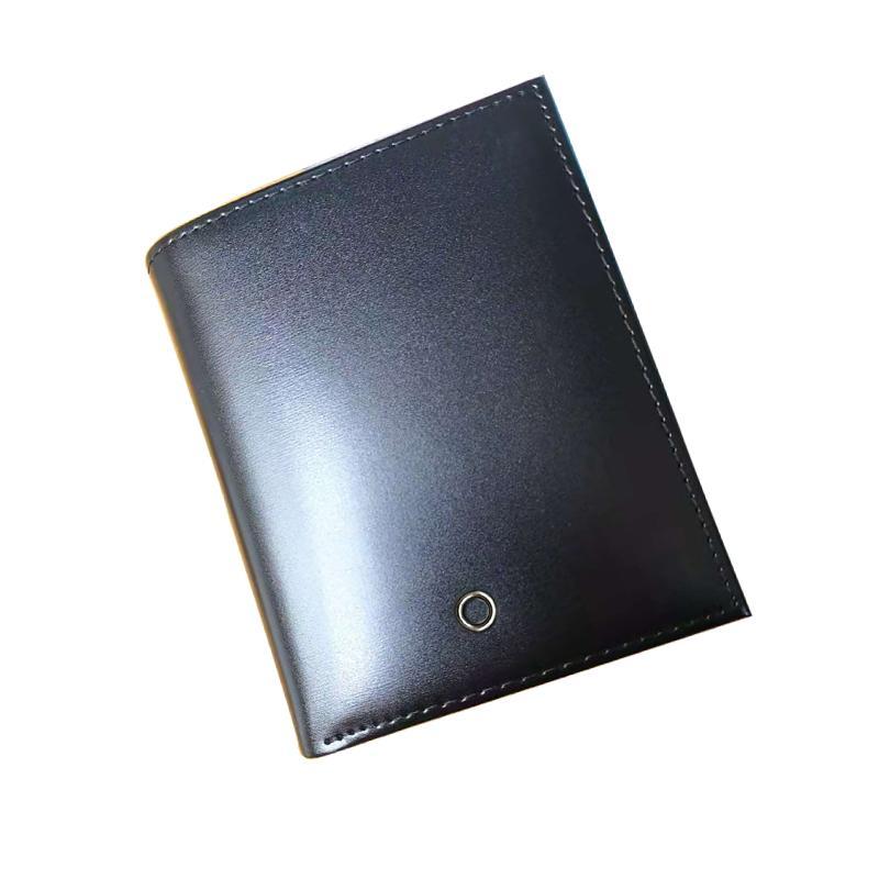 Bolso bolsa de desenhista para moeda curto homem preto transporte carteira caixa de carteiras presentes saco de cartão do titular homens de couro clássico grátis VHGMB