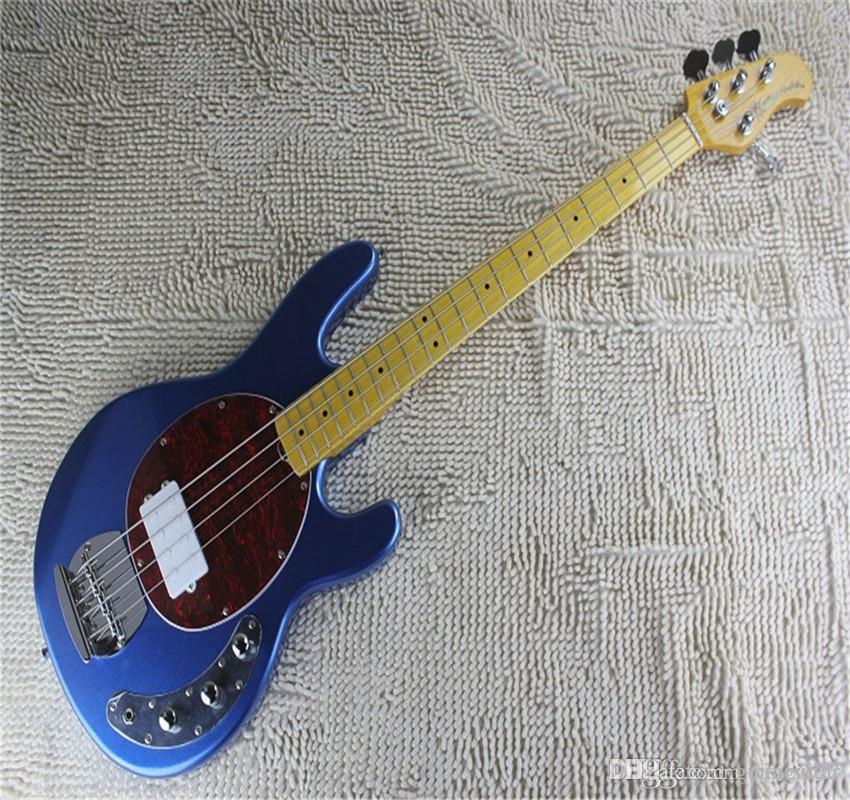 Atacado Melhor High Quality Music Man 4 Strings Guitarra elétrica Baixo com pickups ativos Viola de bateria 9V