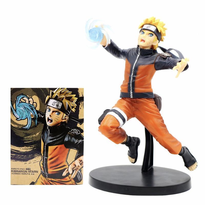 Anime Naruto Shippuden Figur Uzumaki Naruto Figur Rasengan Combat Ver. Action Figure Modell Spielzeug Puppe Geschenke für Kinder 201202