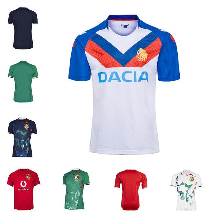 2020 2021 Britânicos Lions Irlandês Rugby Jersey 20 21 Lions Britânicos Rugby Home Fora Treinamento Camisa Tamanho S-5XL
