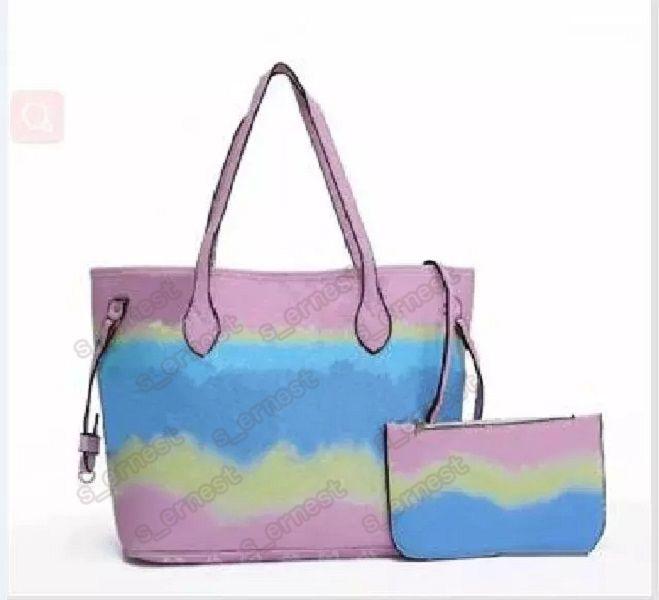 النساء 2 قطع مجموعة حقيبة يد زهرة الفاصل المفضل حمل crossbody التسوق حقيبة الكتف حقيبة هوبو حقيبة بوسطن