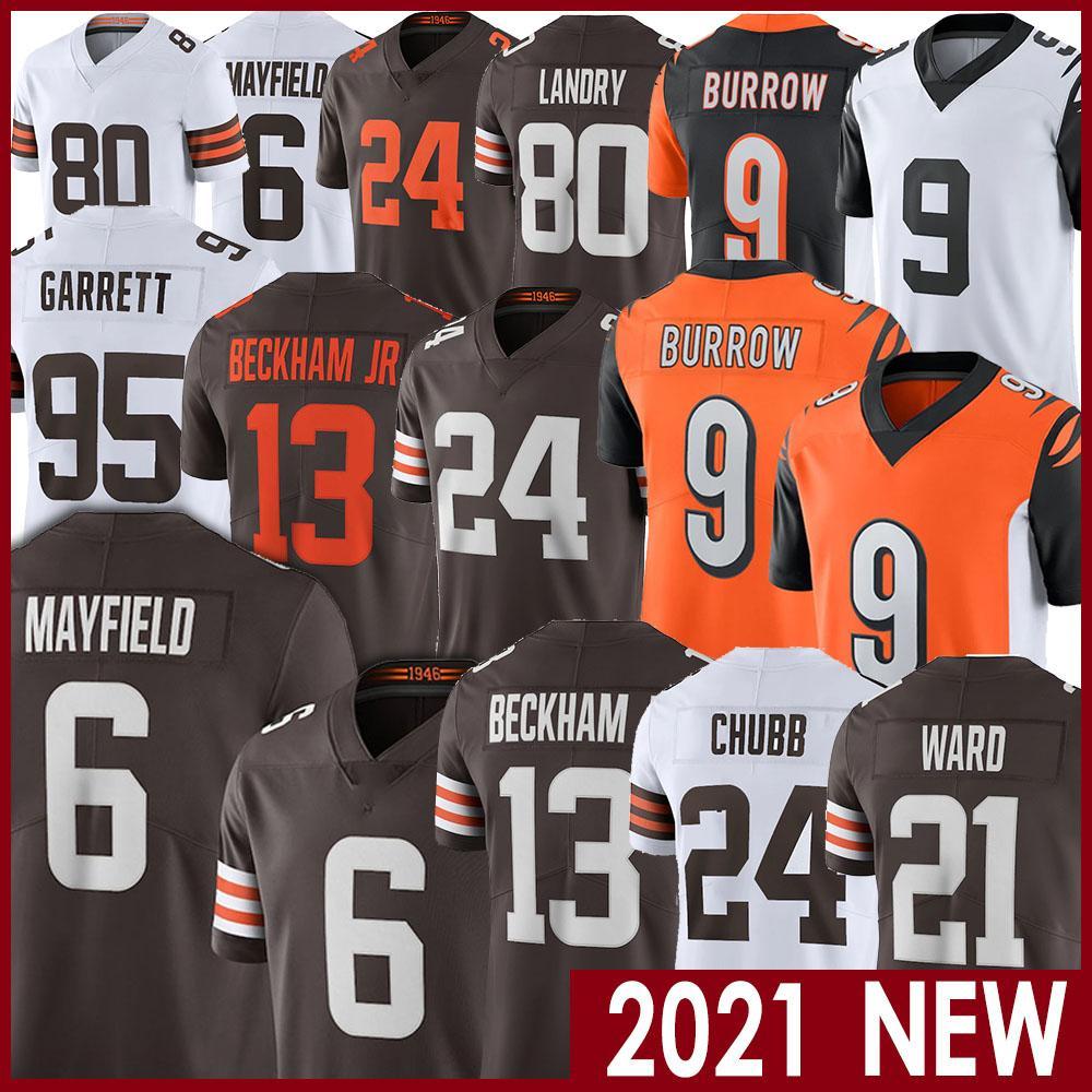 9 Joe Burrow 13 Odell Beckham Jr 24 Nick Chubb Baker Mayfield 95 Myles Garrett 21 Denzel Ward 80 Jarvis Landry