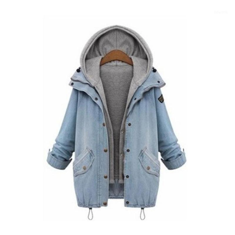 Dois jaquetas falsas jaquetas femininas com capuz plus size moletom com capuz mulheres mangas compridas com capuz para as mulheres engrossar moletom com capuz1