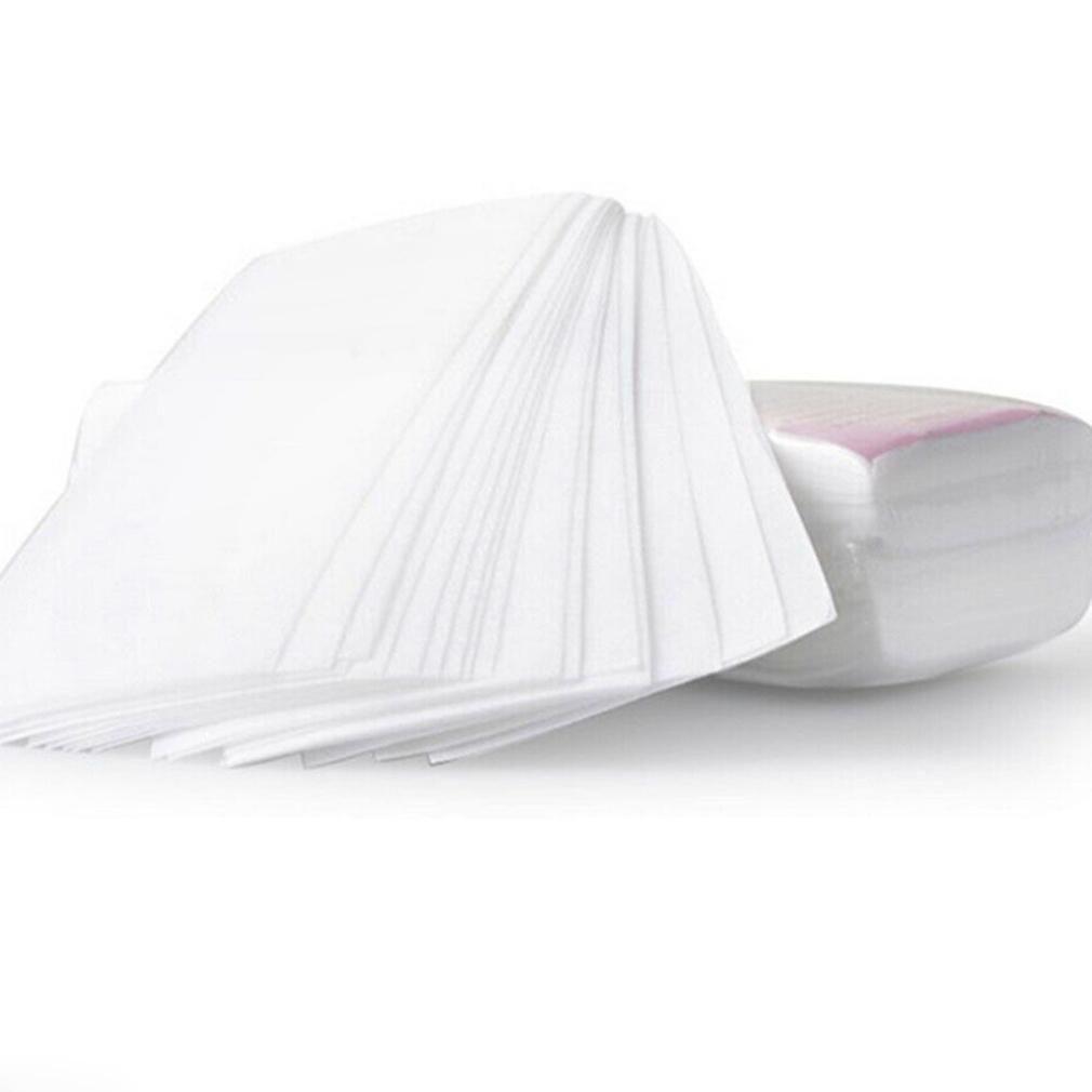 100 шт. Удаление нетканого тела ткань из волос удаление воск бумаги рулон для удаления волос эпилятор восковая полоска бумага