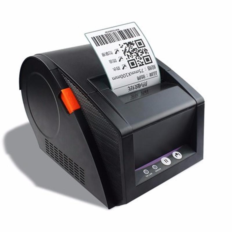 High Quality GP3120TU Thermal Label Barcode Sticker Printer 20mm-82mm Width 80mm Receipt Bill Print