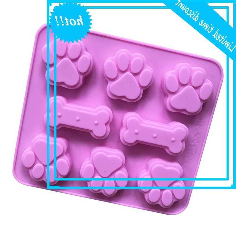 Шесть кошек и костный силиконовый торт ароматные формы термостойкие легкие демобилизованные милые лапы