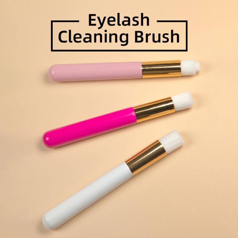 Makeup Pinsel 1 stücke Wimde Reinigungsbürste Augenbraue Nase Blackhead Lash Shampoo Professionelle Erweiterungen Werkzeuge