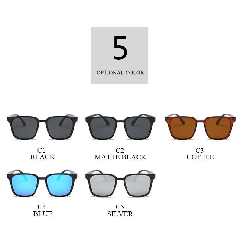 2021 Sonnenbrillen Platz für polarisierte Schwarz Großhandel Klassische Hohe UV400-Farbtöne Qualität Männer Fahren Brille Marke Design Eyewear Hlmnv