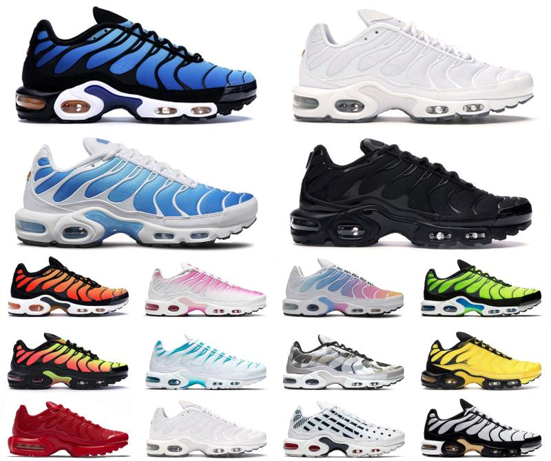 2020 chaussures mauve respirant III Supernova corail citron vert Camo Bred TN Mer Femme White Womens Sneakers Baskers Plus Sports Running Hommes