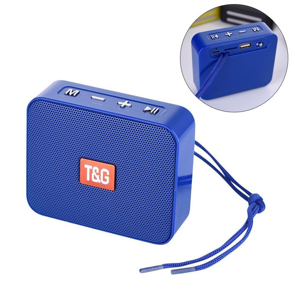 TG166 Mini Altavoz Bluetooth portátil Pequeño altavoz inalámbrico Bluetooth 5.0 Soporte USB TF Card FM Radio Caixa de Som AltaVoces