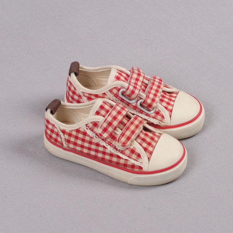 Vente de dégagement Casual Kids Chaussures Chaussures Pour Enfants Chaussures Enfants Toile Dentelle Enfants Sneakers Fashion Filles Designers Chaussures Z290