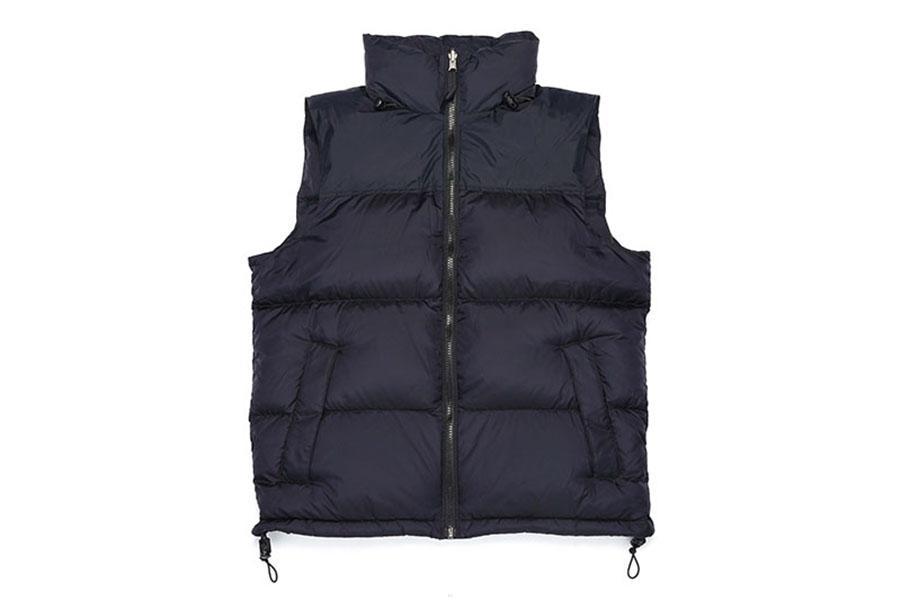 Winter Sleeveless Down Weste Hoodie Jacke Männer Gepolsterte wasserbeständige leichte warme Fleece gefüttert Herren Mantel Reißverschluss Strickjacken Weste