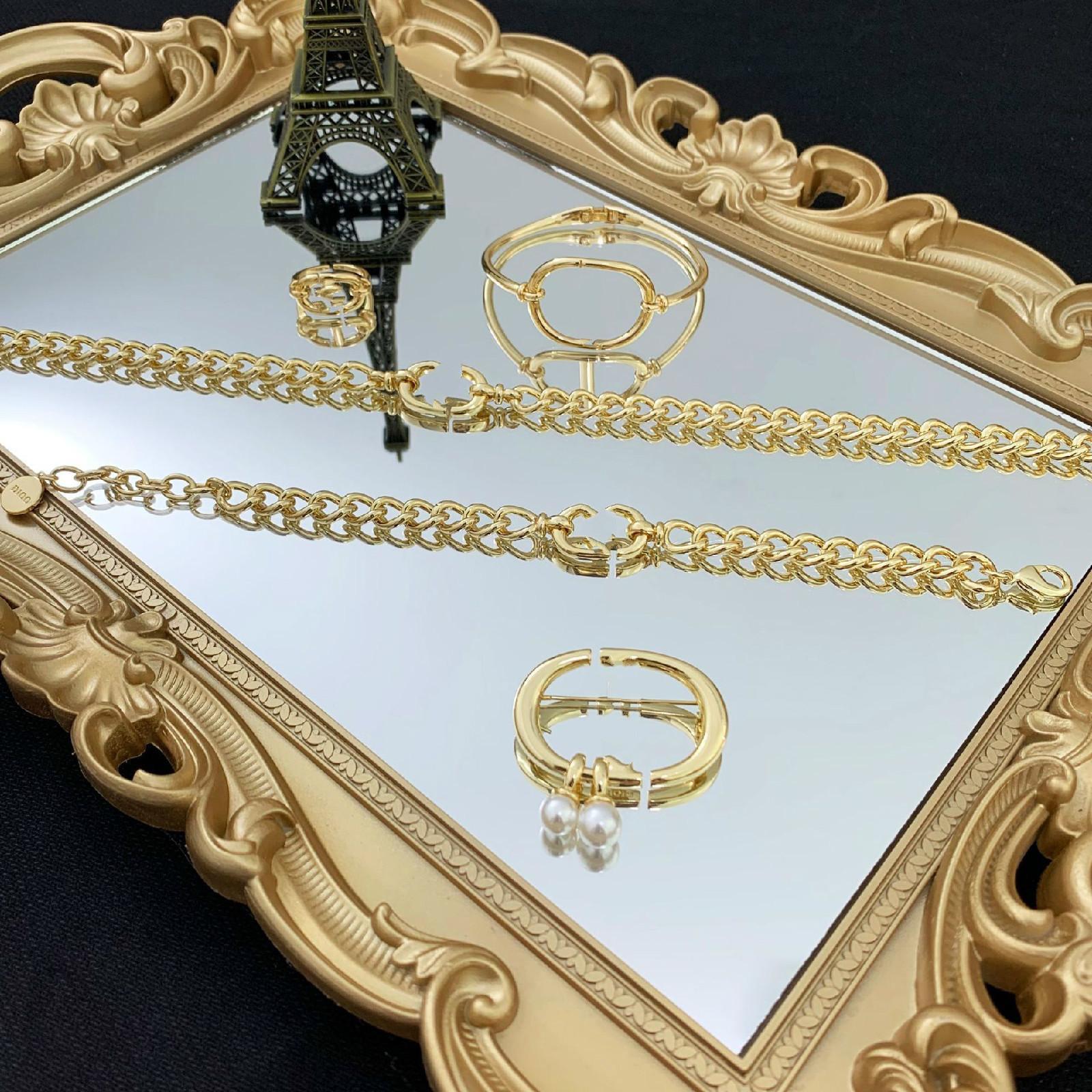 Bracciale per gioielli designer di lusso Bracciale Bracciale 18 K Vestito d'oro