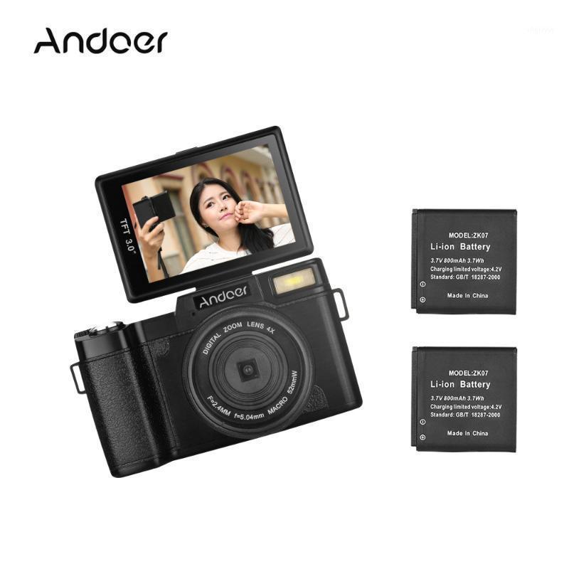 "ANDOER 1080P 15FPS Full HD 24mp fotocamera digitale 3,0 ""schermo LCD girevole anti-shake 4x digitale zoom camera camcorder1"