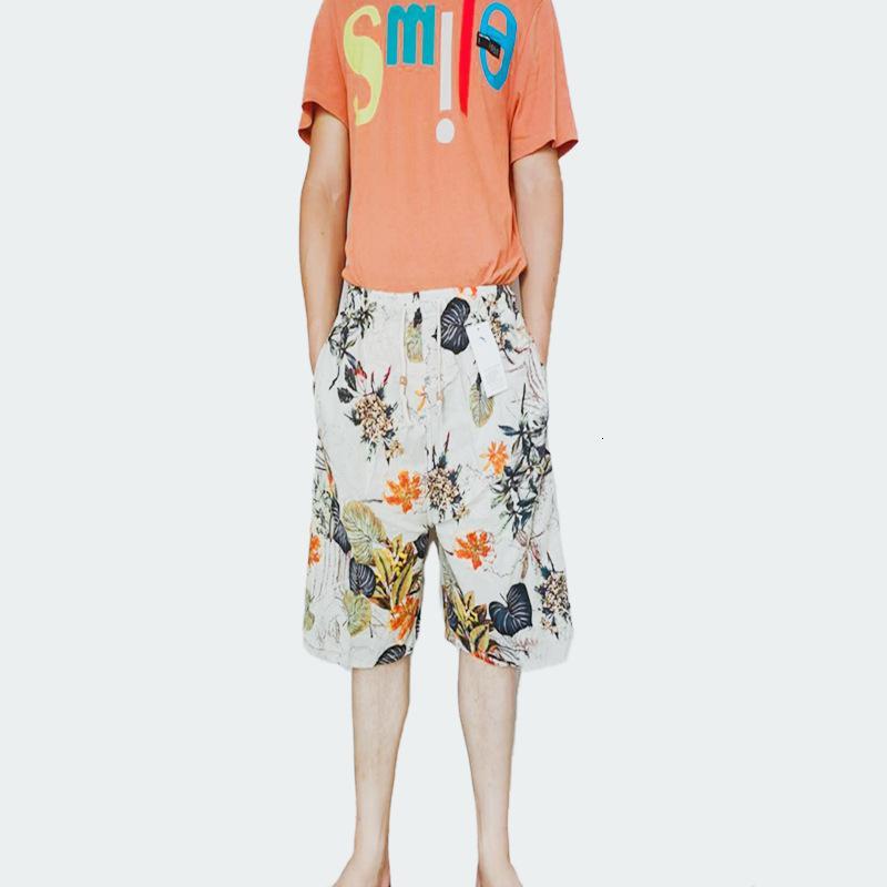 Pantalones de playa Cinco puntos de ocio Deportes de ocio Pantalones de natación de la casa de la moda suave estilo nacional Big Broadpants
