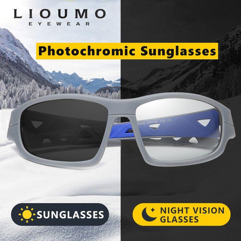 Neue photochromische winddichte Sonnenbrille Männer für Brille Design Eyewear Outdoor Driving Frauen Oculos Sol Uv400 Polarized de Safety PTSWW