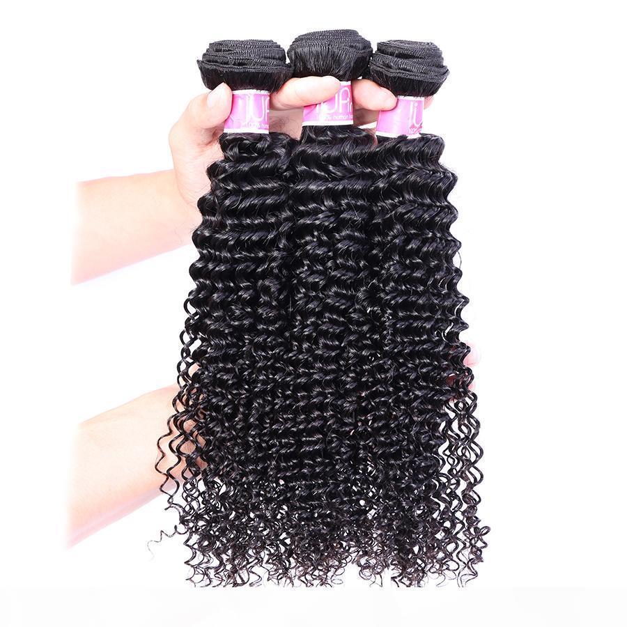 Toptan IUPin Saç Ürünleri Brezilyalı Remy İnsan Kıvırcık Saç 3 Paketler 100g adet Güzellik Kaynağı Brezilyalı Kıvırcık Bakire saç örgüleri On Sale