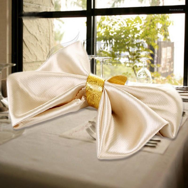 2 шт. Сплошные цвета салфетки многоразовые моющиеся полотно-платок ткань стол салфетки домой отель свадьба вечеринка ужин ткань столовый декор1