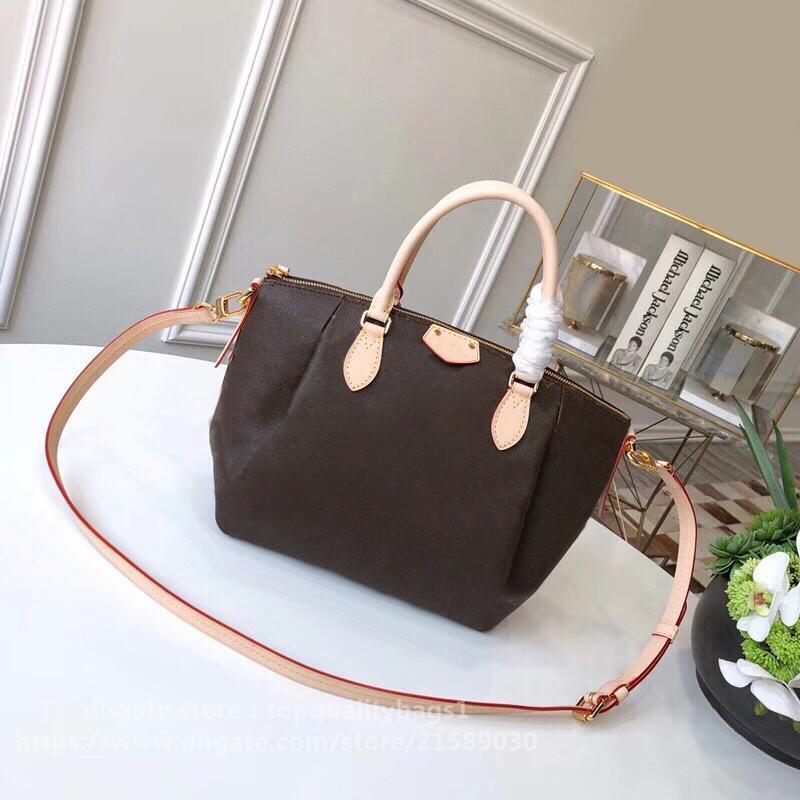 2021 Подлинная Классическая сумка Сумка Luxurys Женщины 36см Мода Шипин Бесплатные Дизайнер Качество Кожа Luaif Топ Новый Пусть FQOPA