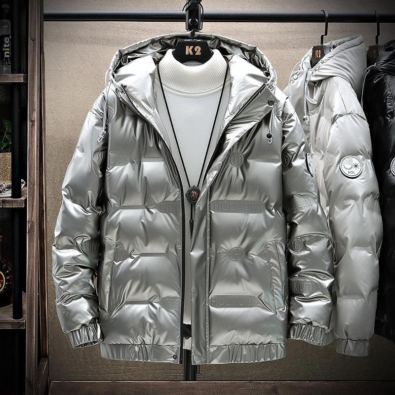 DXQQ COAT Kış Kalın Erkekler Isıtma Pamuk Ceket Su Geçirmez Rüzgarlık Kapşonlu Kış USB Erkekler Kalın Sıcak Erkek Ceket Parka 823