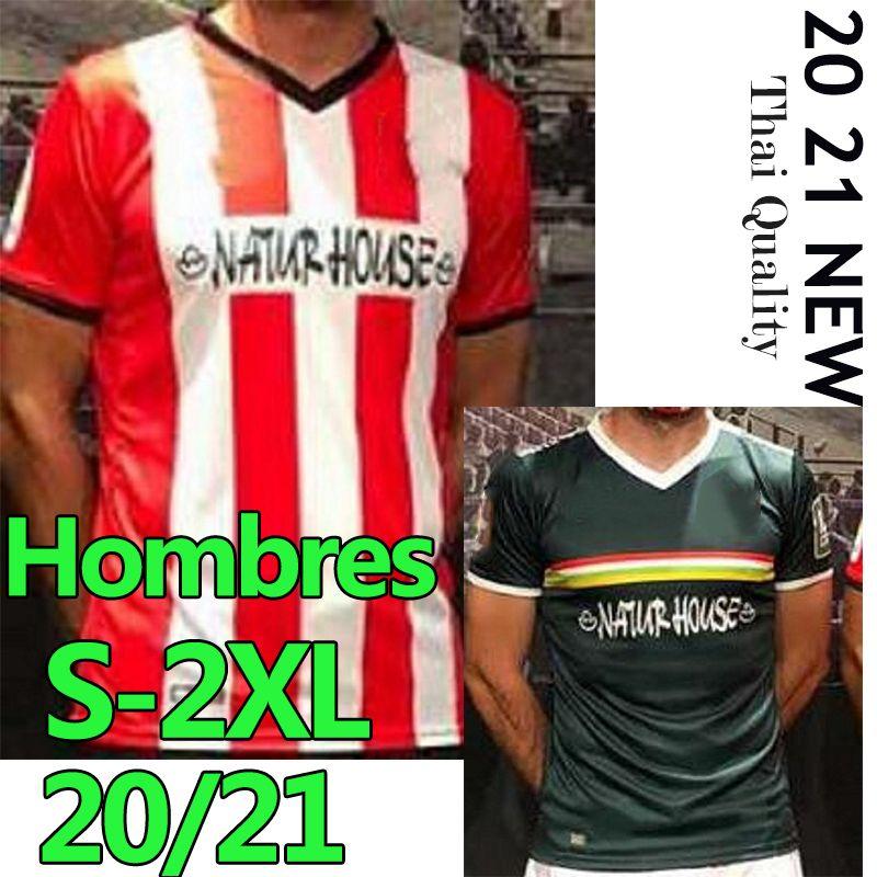 2020 2021 UD Logroñés Soccer Jerseys Zelu Vitoria Andy Naki Errasti Zelu Home Away 20 21 Roni Football Shirt Hombres Niños تايلاند زي