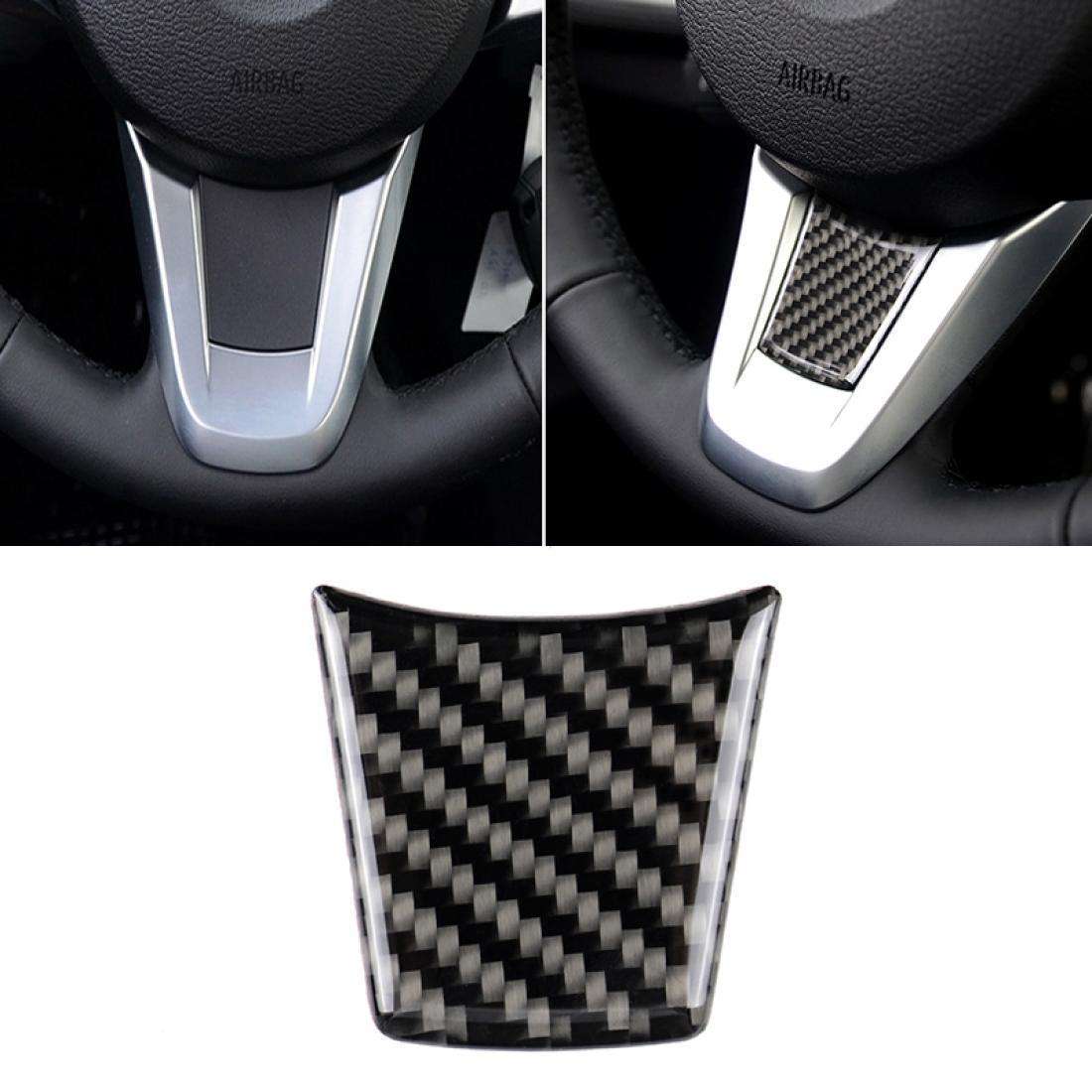 Автомобиль углеродное волокно руль сплошной цвет декоративный наклейка для BMW Z4 2009-2015