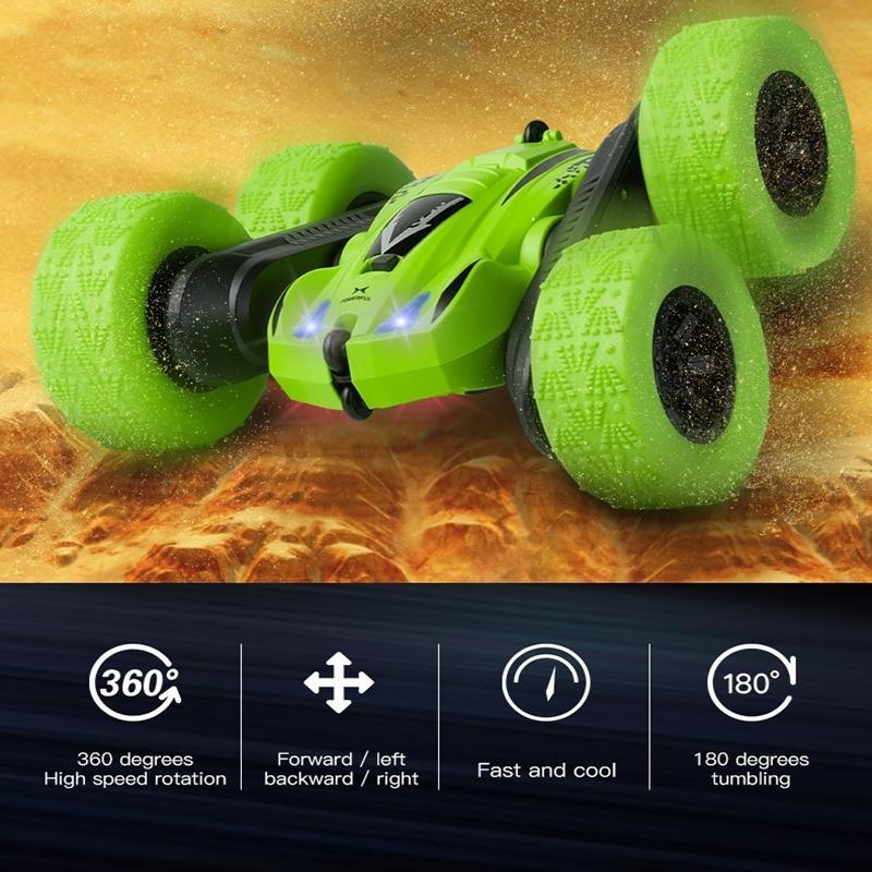 Nitros RC CAR 4WD REMOT CONTROL CONTER CART CAR TROW MODEL ROLL Двусторонняя вращающаяся скручиваемость Управляемая машина Машины для мальчика Детская игрушка 201218