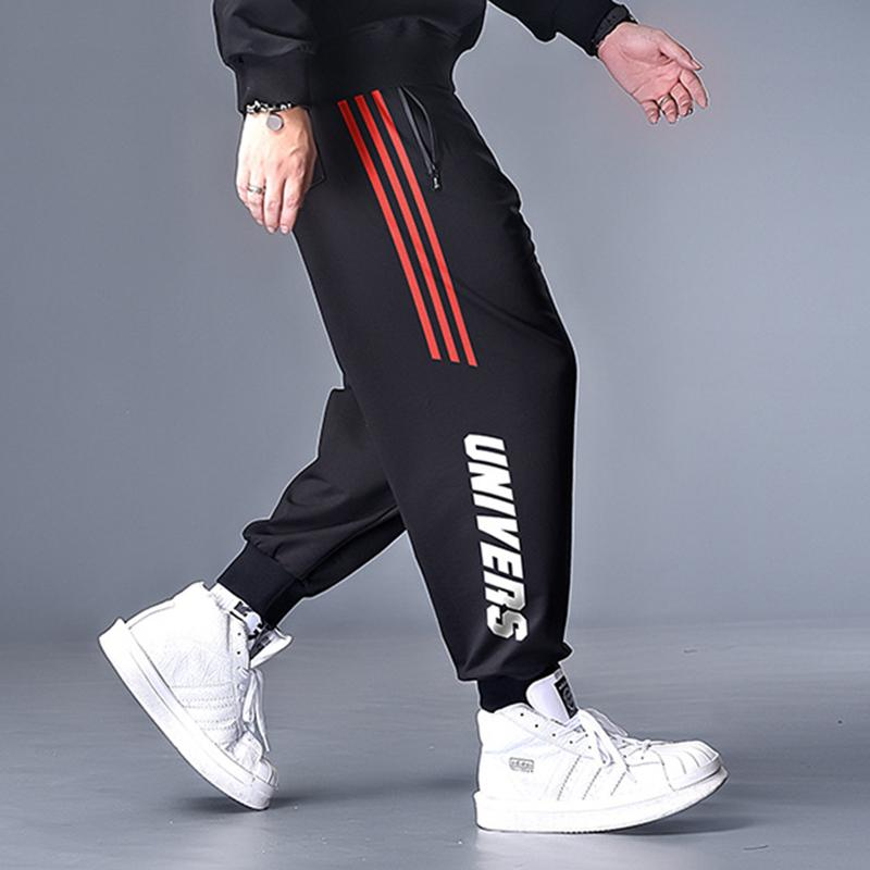 Мода свободный досуг Повседневная Большой Размер L-7XL Trend Новые Гармема Брюки Мужчины