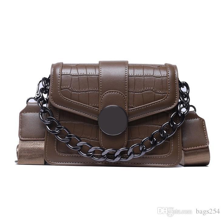 Bolsas de cruz de cuero de la PU para las mujeres de la marca de la marca de la marca de la marca de la marca de la moda de la moda de la manera simple de la moda
