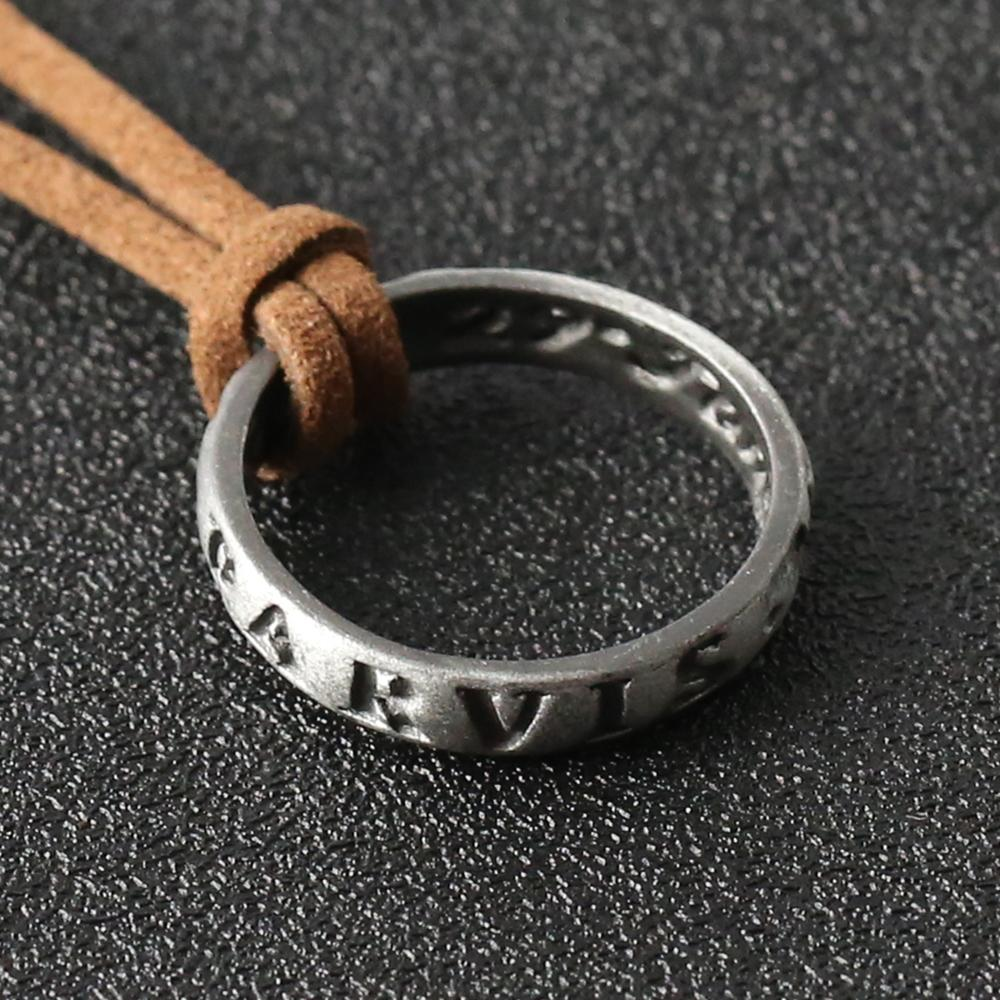 Uncharted 4 Necklace Nathan Drake Mysterious sea area Ringss Elena Sullivan Ancient Vintage Pendant Movie Game Jewelry Wholesale Y1130