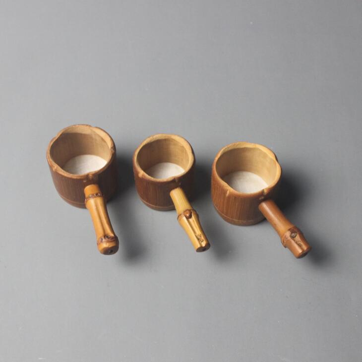 Bambu Chá Infusor Filtro Colander Filtro com Handle Novidade Ferramenta de Chá Do Vintage Kung Fu Tea Gadgets Presente IIF60