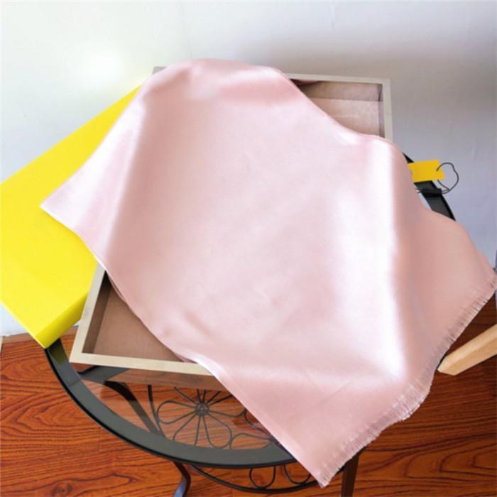 Горячая распродажа шелковый шарф мода человек женщин 4 сезона шарф шарф шарф размер около 180x70см 6 цвет
