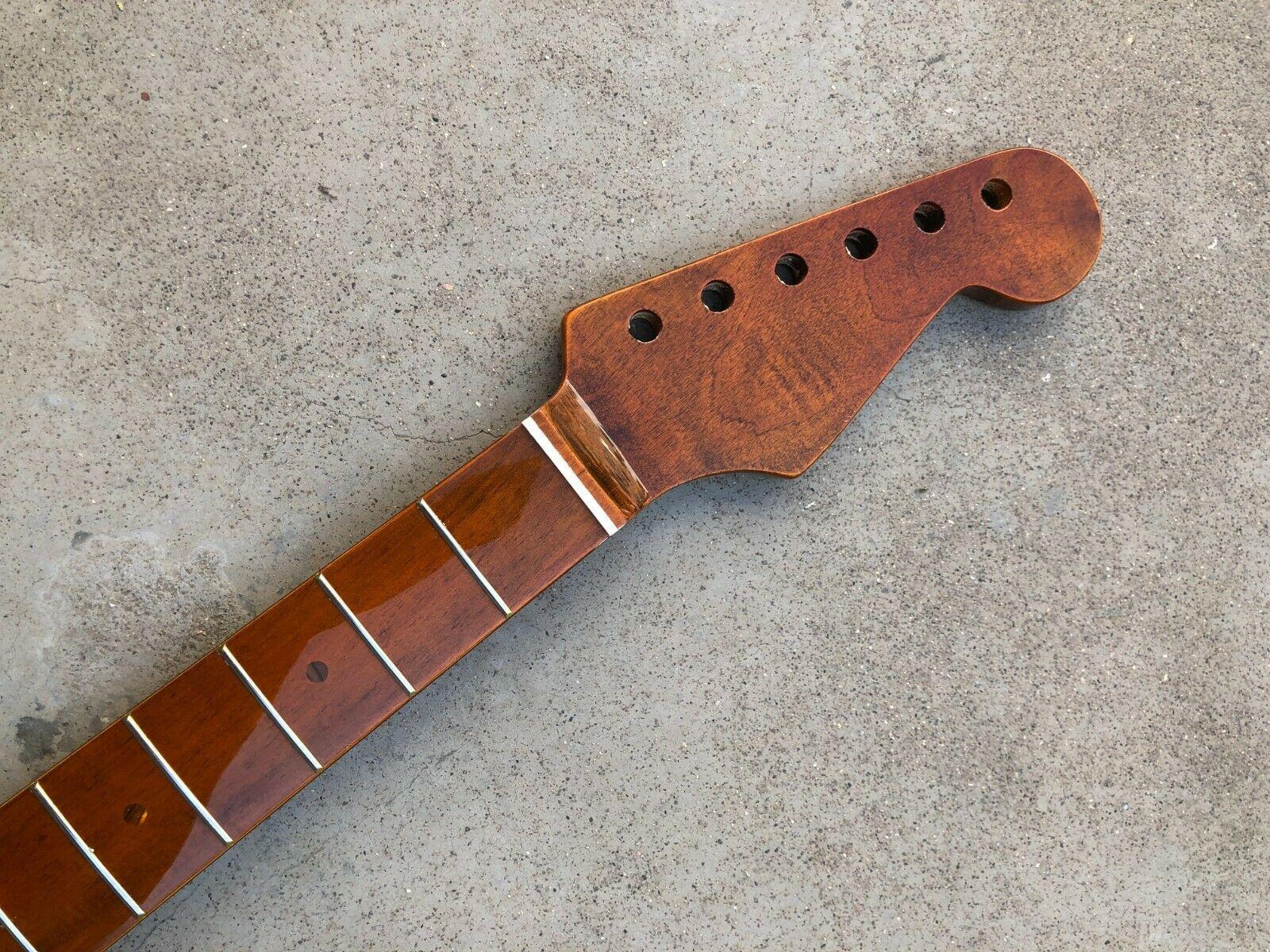 Maple Guitar Neck 21 Fret 25,5 pollici per chitarra elettrica Sostituzione della parte 1PC