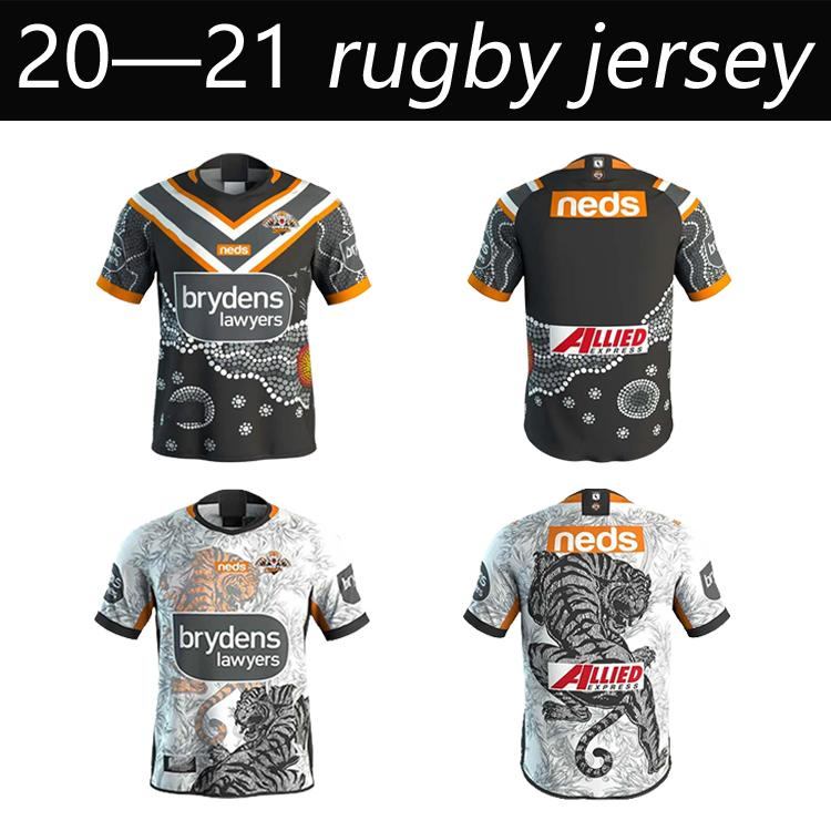 2020 West Tiger Rugby Jerseys French Hero Edition White Blue League Shirt Polo Souvenir T-shirt Mens Top Quality Club Australia Sizs: S-5XL
