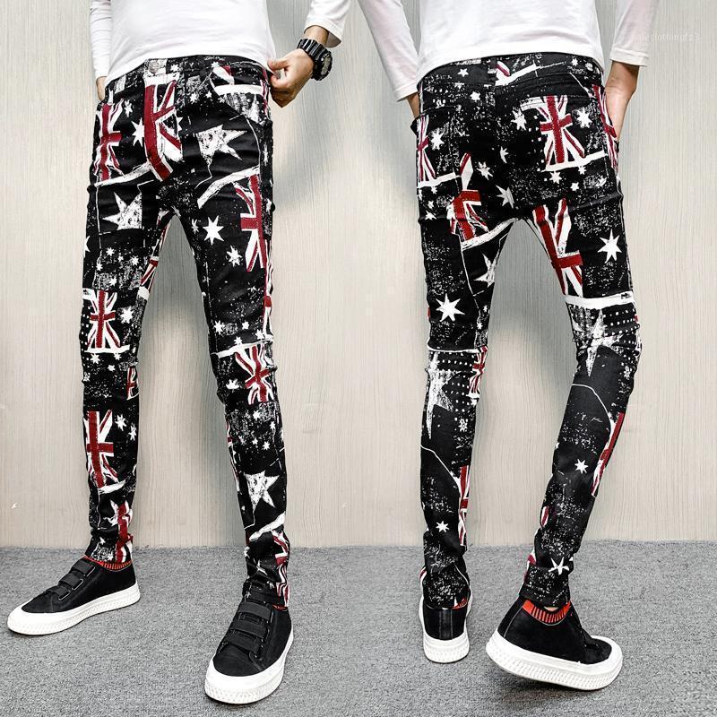 Pantalones para hombres Casual Rogger al aire libre Hombre Pantalón Kargo Pantolon 2021 Personalidad Impresión Hombres Ropa deportiva Transpirable Streetwear1