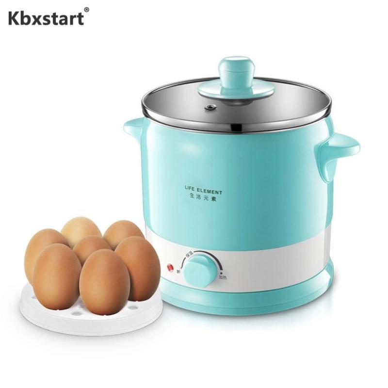 KBXSTART المطبخ multicooker الفولاذ المقاوم للصدأ الأرز طباخ متعدد الوظائف طباخ كهربائي عنبر البسيطة وعاء كوك المعكرونة 220 فولت