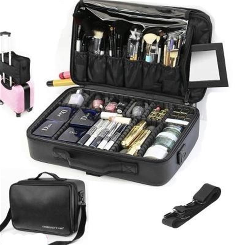 New Quality Professional Makep Makeup Organisateur Cosmétique Case Voyage Grand capacité Sac de stockage Saccases Y200714
