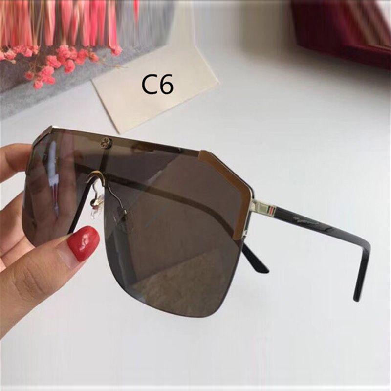 Мода Новый для квадратных солнцезащитных очков мужские качества UV400 с полными женские очки с полным десенгером