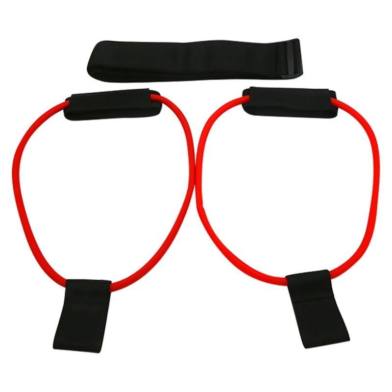 Bouncing Jump Trainer Baloncesto Elástico Elástico Dispositivo de entrenamiento Squat Power Resistencia Banda Cuerda Casa Inicio Gimnasio Deportes Fitness J0115