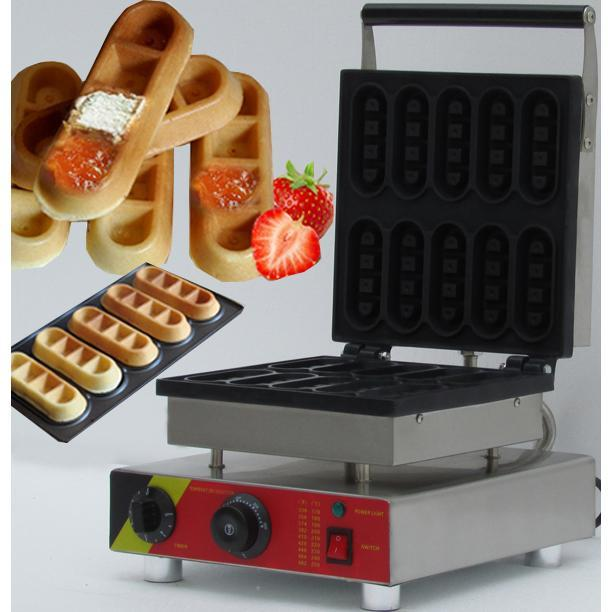 2020 Neues Design Mini kommerzielle Waffel-Stick Maker Lolly Egg Waffelmaschine