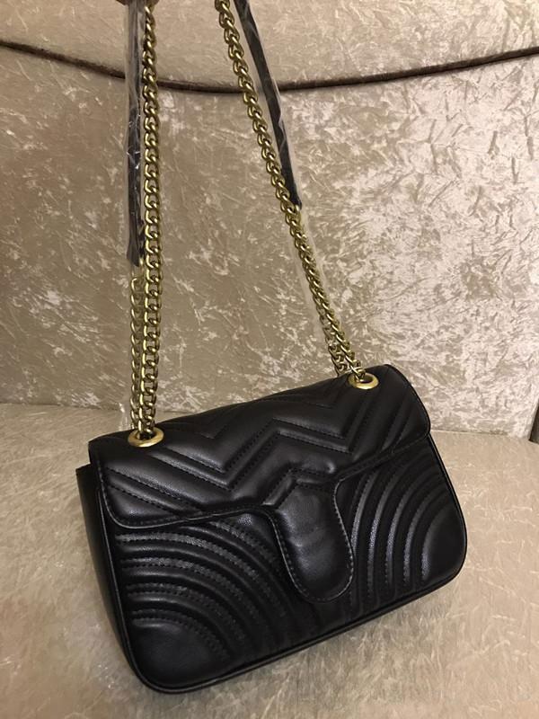 Leder Dame Hot Frauen Designer-2020 Tasche Messenger Rucksack Marmont Bag Verkauf Crossbody Handtaschen Schulter Mode Tote Geldbörsen Taschen AVFPC