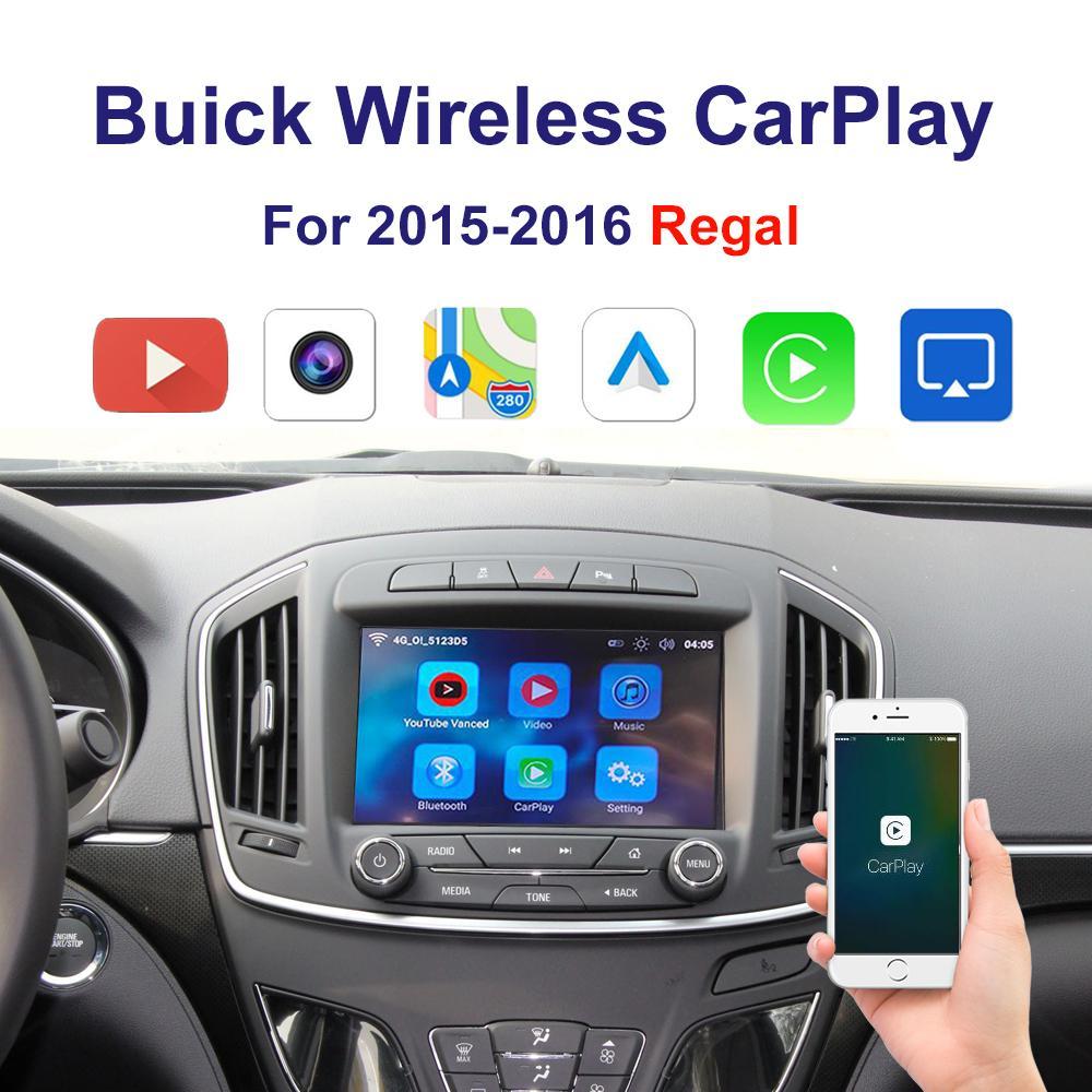 Auto-Wireless Carplay Android-Autoschnittstelle für Buicke 2015-2016 Regal Multimedia-Unterstützung iPhone Android