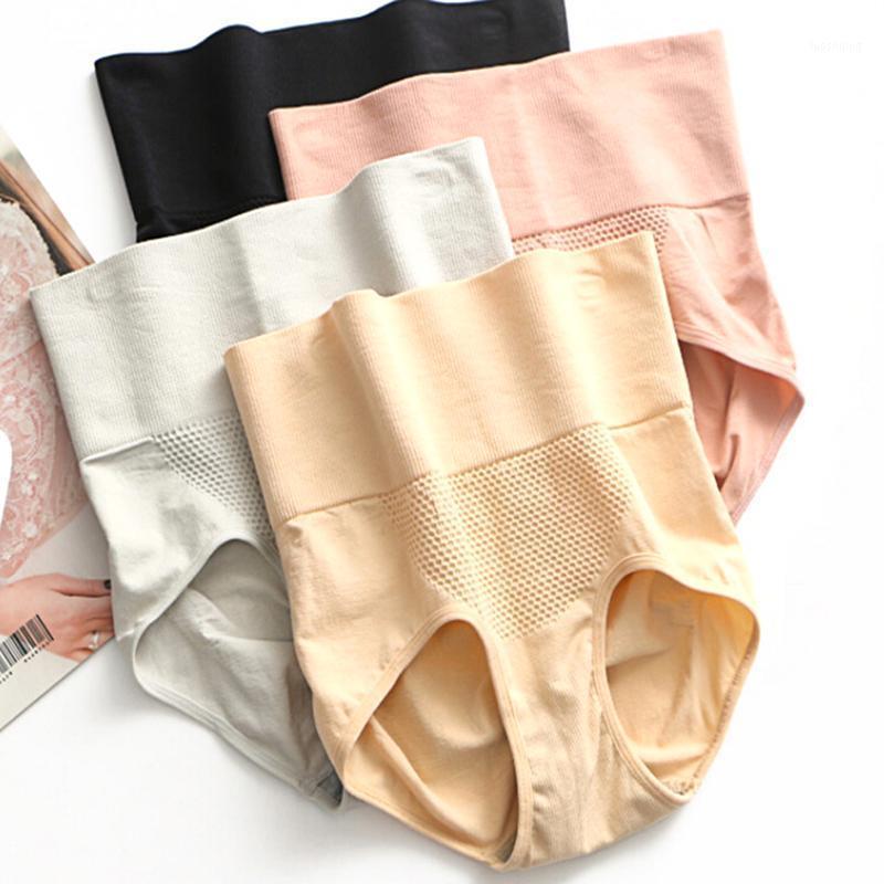 Pantalones de adelgazamiento de cintura alta transpirable Pantalas de control de la calle Shapewear Mujeres Panty Girdle Poleo brillante Tela Shiny Forma 1