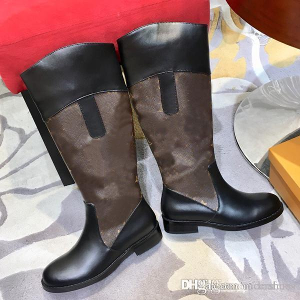 Botas das Mulheres Sapatos Senhoras Luxo Senhoras Zipper Moda Feminina Botas de Trabalho Quente High-top Shoes Venda Quente das Mulheres
