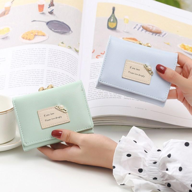 Mini Designers Bags Wallets Backpack Kids Women Women's 2020 Coin Purse Small Luxurys Wallet Three Folding Fashion Purse Hot Purse Sold Ailr