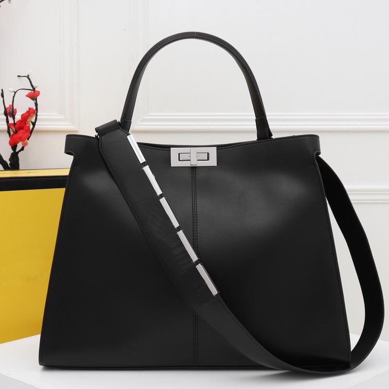 43 cm grande capacità pacchetto cinghia sacchetto F a spalla lettera borsa di qualità superiore in pelle larga tote bagagli shopping borse GE UTBKK