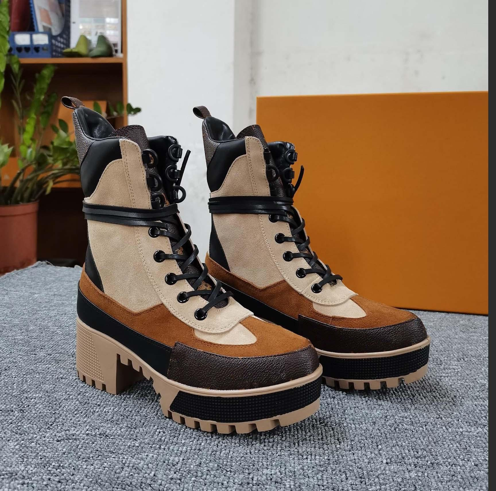 Clássicos requintado couro mulheres botas de salto alto e genuíno ao ar livre botas de moda martin cowboy western booties home011 05